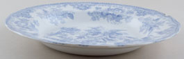 Burgess and Leigh Asiatic Pheasants Soup Plate c1887