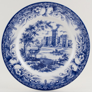 Barratts Unidentified Pattern Plate c1990s