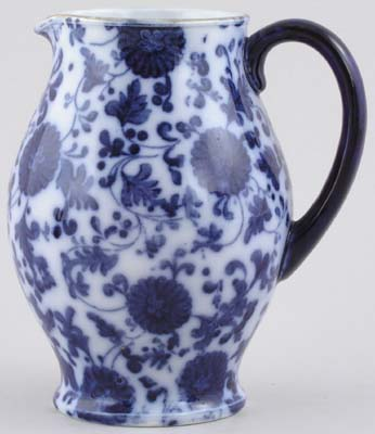 Powell Bishop and Stonier Unidentified Pattern Jug or Pitcher c1880