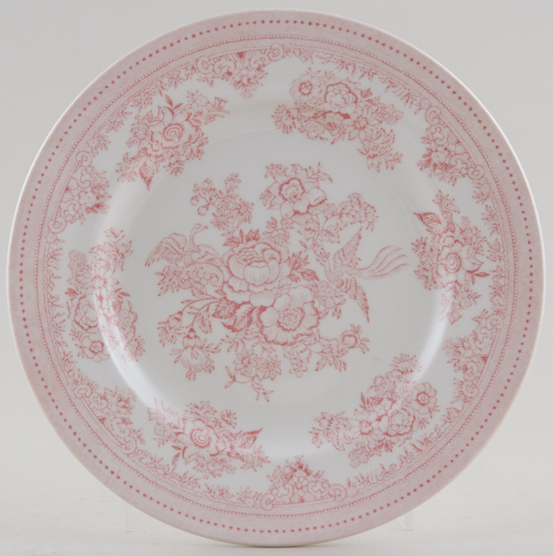 Burleigh Asiatic Pheasants pink Side or Cheese Plate