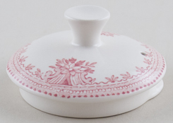Burleigh Asiatic Pheasants pink Teapot Lid small
