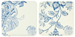 Burleigh Asiatic Pheasants Coasters set of 4