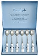 Burleigh Asiatic Pheasants Teaspoons set of 6