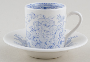 Burleigh Asiatic Pheasants Espresso Cup and Saucer