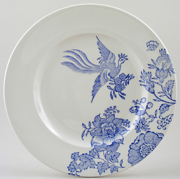 Burleigh Asiatic Pheasants Dinner Plate Accent