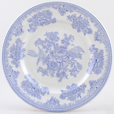 Burleigh Asiatic Pheasants Dinner Plate  sc 1 st  Lovers of Blue and White & China by top British brands Burleigh Spode Portmeirion Johnson ...
