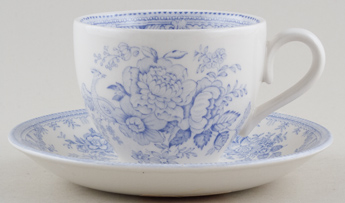 Burleigh Asiatic Pheasants Teacup and Saucer