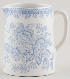 Burleigh Asiatic Pheasants Jug or Creamer Tankard mini