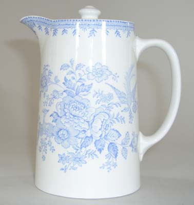 Burleigh Asiatic Pheasants Jug or Pitcher Hot Water
