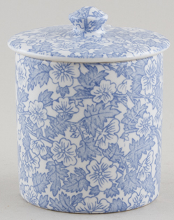 Burleigh Burgess Chintz Jam or Preserve Pot