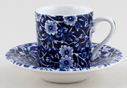 Burleigh Calico Espresso Cup and Saucer