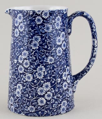 Burleigh Calico Jug or Pitcher Tankard large