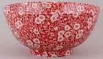 Burleigh Calico red Chinese Bowl medium