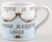 Burleigh Royal Baby Commemorative Mug