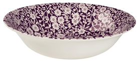 Burleigh Calico mulberry Dessert or Soup Bowl
