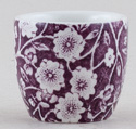 Burleigh Calico mulberry Egg Cup