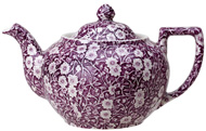 Burleigh Calico mulberry Teapot small