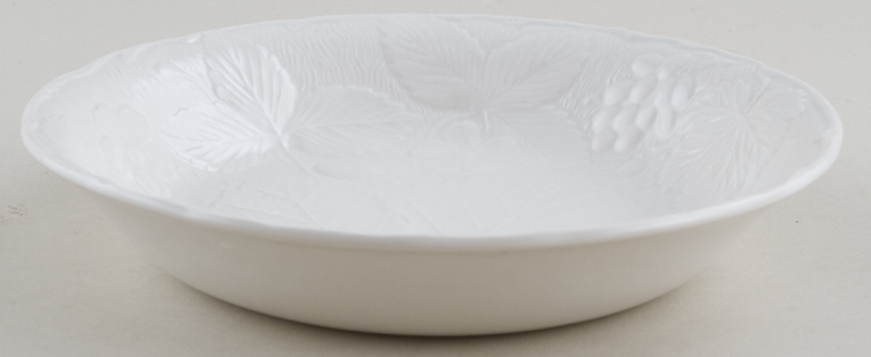 Burleigh Davenport white Dessert or Soup Bowl