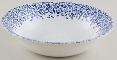 Burleigh Felicity dark Dessert or Soup Bowl Accent