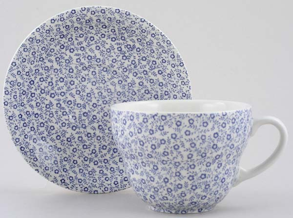 Burleigh Felicity Breakfast Cup and Saucer