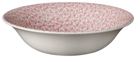 Burleigh Felicity rose pink Dessert or Soup Bowl