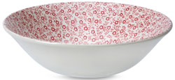 Burleigh Felicity rose pink Cereal or Dessert Bowl