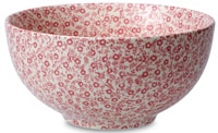 Burleigh Felicity rose pink Sugar Bowl large