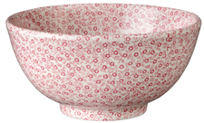 Burleigh Felicity rose pink Chinese Bowl medium