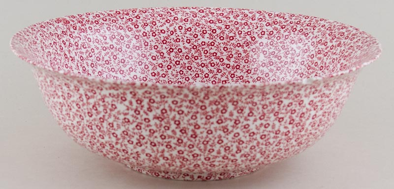 Burleigh Felicity red Fruit or Salad Bowl large