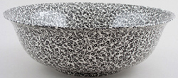 Burleigh Felicity black Fruit or Salad Bowl large