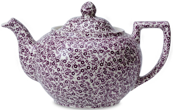 Burleigh Felicity mulberry Teapot large