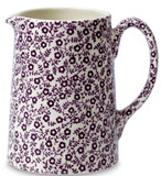Burleigh Felicity mulberry Jug or Pitcher Tankard small