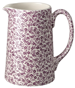 Burleigh Felicity mulberry Jug or Pitcher Tankard medium