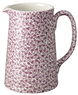 Burleigh Felicity mulberry Jug or Pitcher Tankard large
