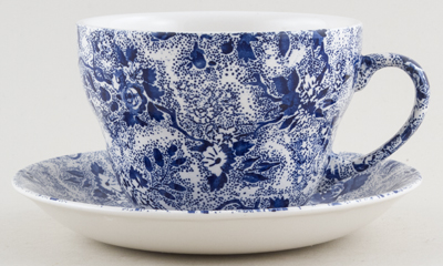 Burleigh Lottie Chintz Breakfast Cup and Saucer