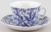 Burleigh Prunus Teacup and Saucer