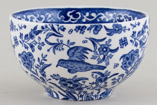 Burleigh Regal Peacock Rice Bowl small