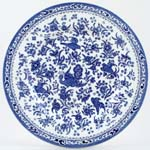 Burleigh Regal Peacock Dinner Plate