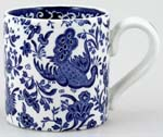 Burleigh Regal Peacock Mug