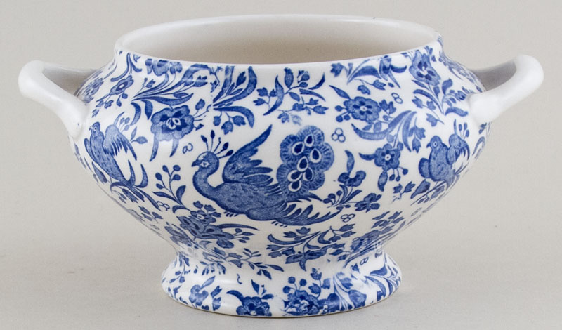Burleigh Regal Peacock Sauce Tureen