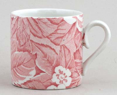 Burleigh Victorian Chintz pink Mug Childs or Coffee