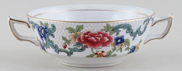 Booths Floradora colour Soup Cup c1950s