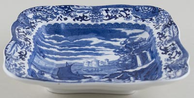 Booths Old Blue Danube Dish c1930s