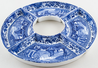 Booths Old Blue Danube Hors d'ouevres dishes c1930s