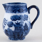 Booths Davenport Willow Jug or Creamer c1910