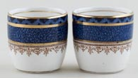 Booths Rodney Egg Cups pair of c1930s