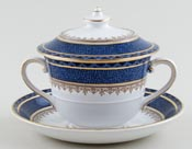 Booths Rodney Cup and Saucer lidded c1930s