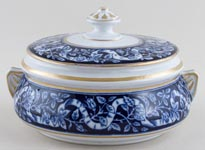 Booth Cyprus Pot lidded c1880