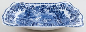 Booths British Scenery Dish large c1930s