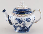 Booths Real Old Willow Teapot c1950s